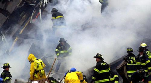 9-11 FIRST RESPONDERS WORKING